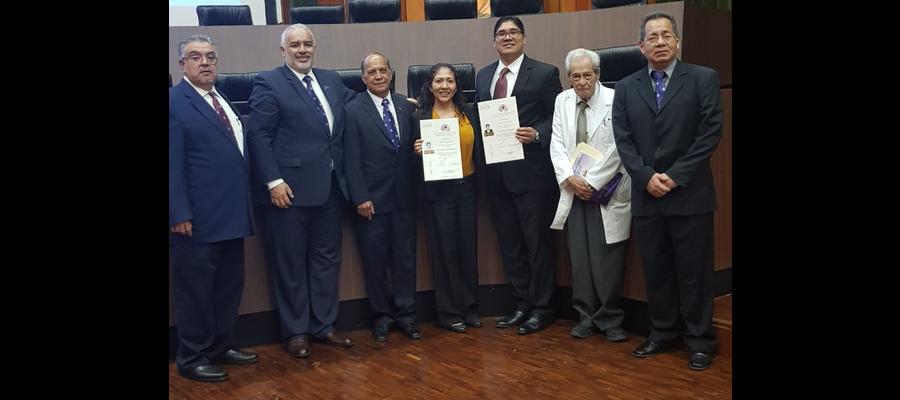 La SMCTG en la Ceremonia de entrega de Diplomas de Certificación del Consejo Nacional de Cirugía de Toráx
